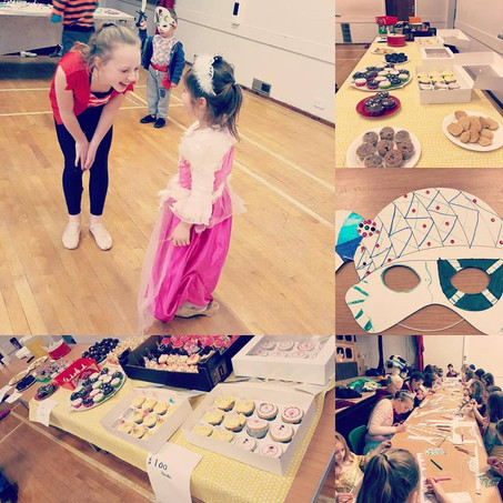 Pirate, Princess and Bake Sale Fundraiser