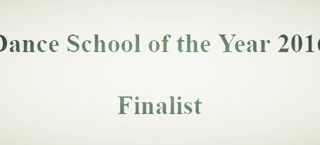 Dragonflies Dance at North Curry is a Finalist for Dance School of the Year 2016!