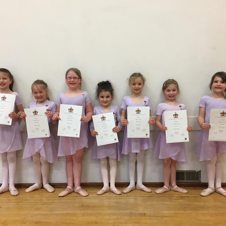 Over 90% of students receiving Distinction for the RAD ballet examinations in March
