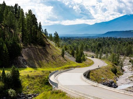 Sight via Windshield | 5 Loop Roads near Cranbrook BC