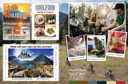 Kootenay Mountain Culture 2 page ad