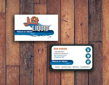 Business Card Design Render