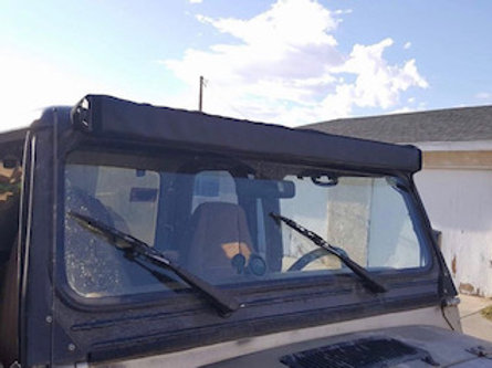 "50""-52"" Plain Solid Light Bar Cover"