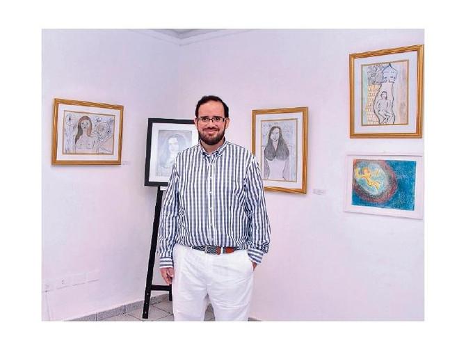 Ramiro Da Silva expondrá pinturas en Chile y Francia