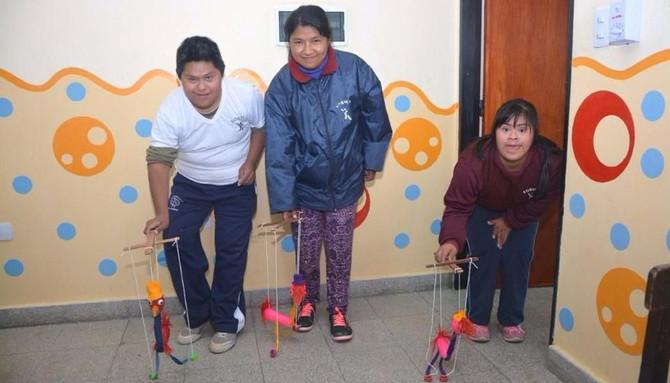El arte como punto de partida para el bienestar de los niños con discapacidad.