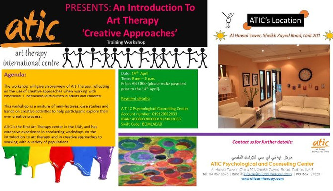 Introduction to Art Therapy Workshops at ATIC
