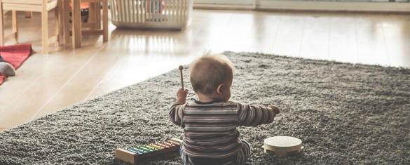 No hay nada mejor que ayudar al desarrollo de tu bebé a través de la creatividad