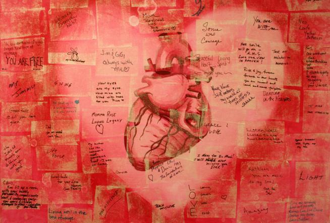 Where words fail, art touches hearts