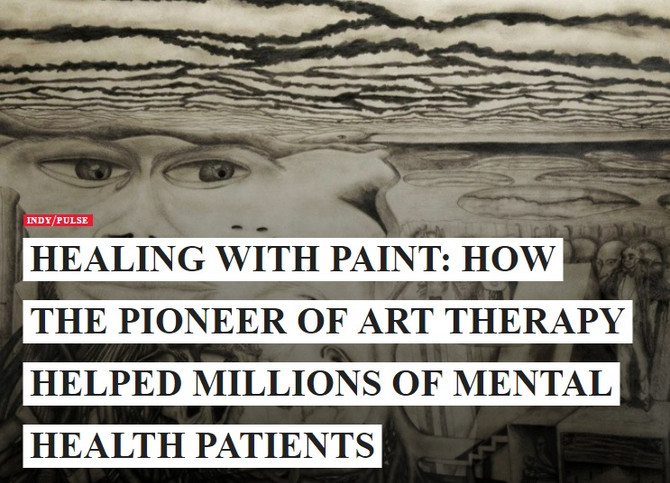 Healing with paint: How the pioneer of art therapy helped millions of mental health patients.
