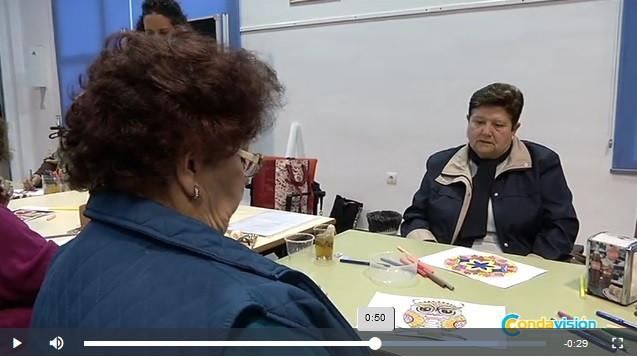 Arteterapia a favor de la memoria con los mayores de Villarrasa