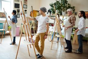 Arte-terapia como herramienta de apoyo psicológico.La actividad creativa cotidiana promueve el biene