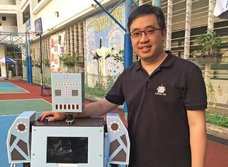 接受香港公開大學訪問