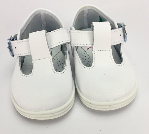 White T Bar Shoes