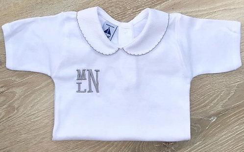 Vest with Monogram