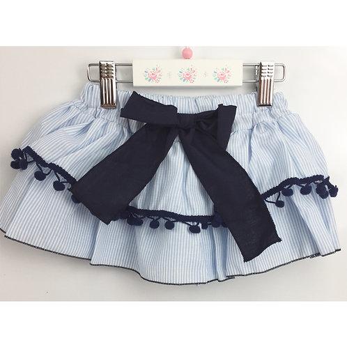 Phi Blue stripe skirt