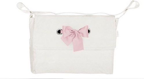 Uzturre Pink  Bow Pushchair Bag