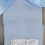 Thumbnail: Baby Blue Patterned Side Bow Sock