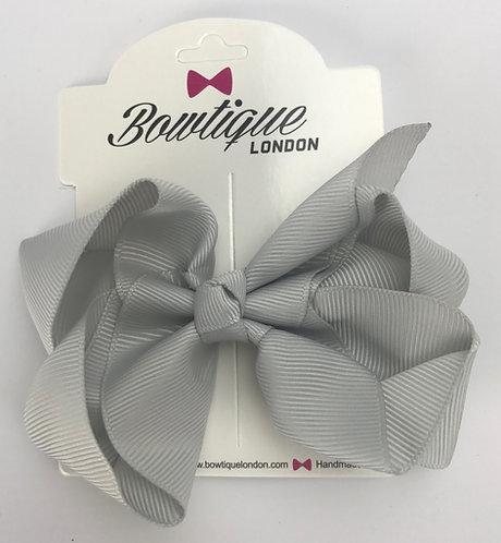 Shell Grey 4 inch bow