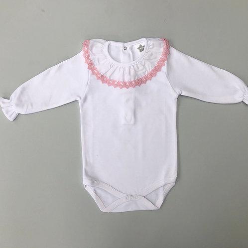 Minhon Pink Crochet Edge Body