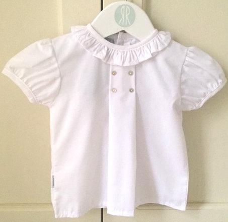Babidu Short sleeve shirt Blanco 80202