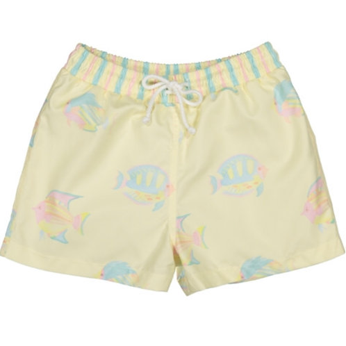 Tropical Fish Swim Trunks Sal and Pimenta