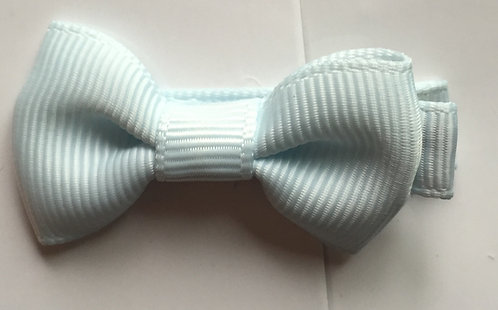 Bowtique London Baby Bow Slide Ice Blue