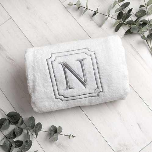 Monogramed Bath Sheet