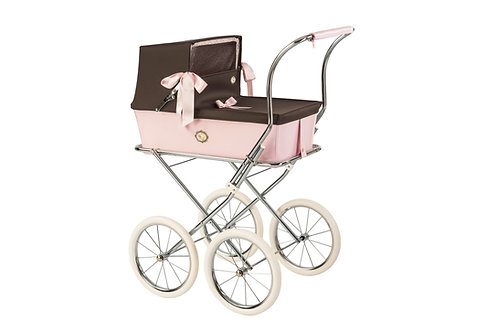 BebeLux Sweet Dolls Pram Chocolate