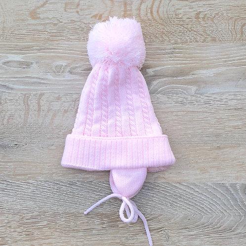 Pom Pom Hat Pink