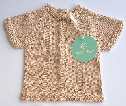 Wedoble Beige Knit Jumper