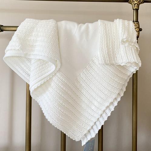 Granlei Ecru Baby Blanket