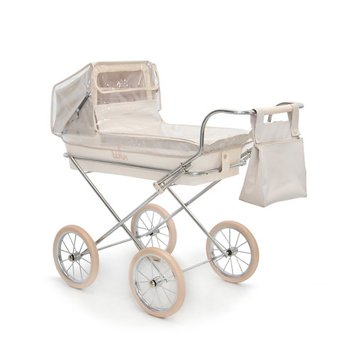 BebeLux Mini Paris Beige Dolls Pram