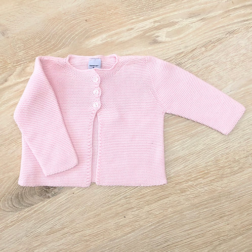 Babidu Pink Knit Jacket
