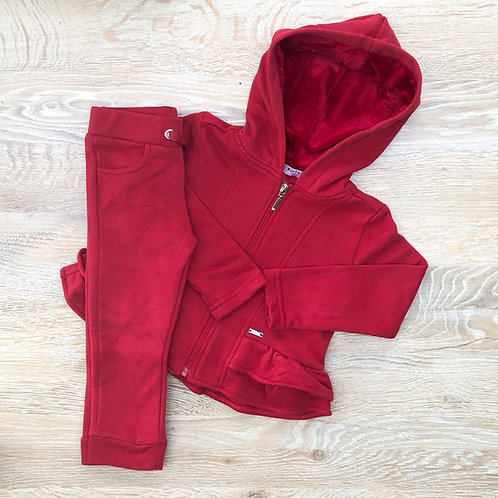 Kiriki Red Zip Tracksuit
