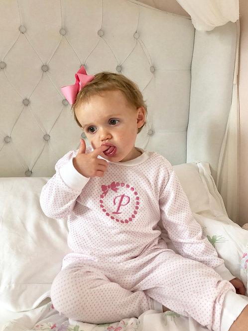 Minhon Pink Star Pyjamas