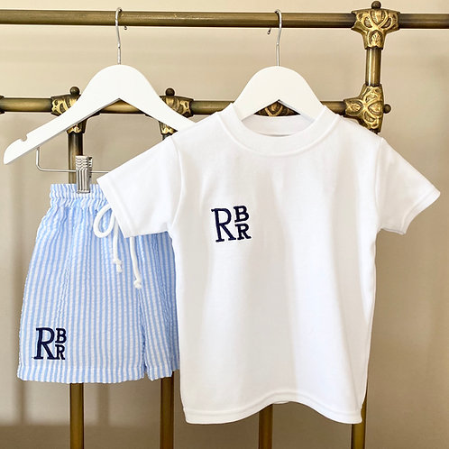 White Cotton T Shirt