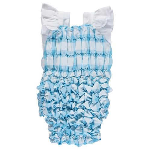 Turquoise Luisinha Check Swimsuit