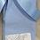 Thumbnail: Baby Blue Back Bow Knee Sock