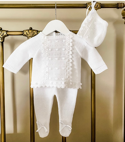 Pure White Baby Set 6209