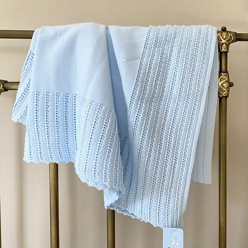 Granlei Blue Baby Blanket