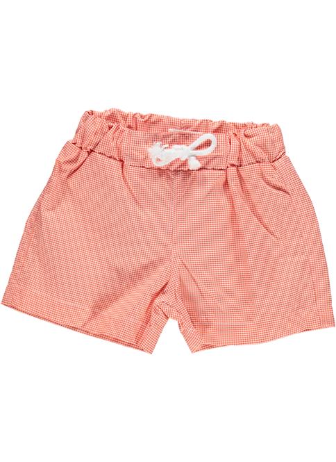 DOT Summer Pedro Swim Shorts Orange Check