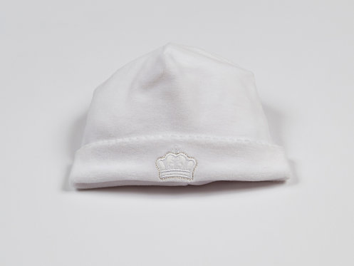 Kissy Kissy white velour hat
