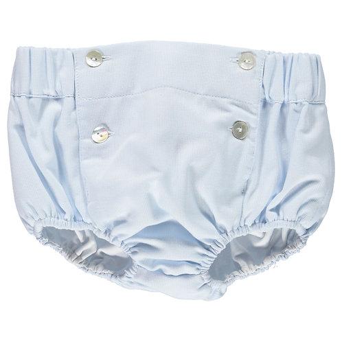D.O.T. Summer Mateus Light Blue Shorts
