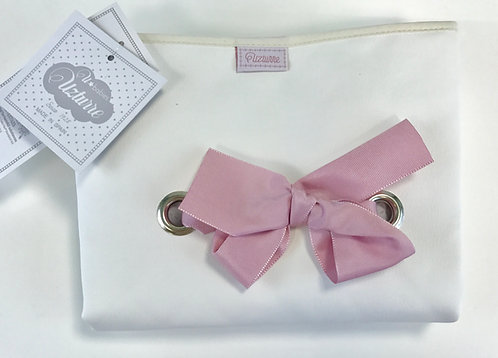 Uzturre Pink Bow Changing Mat