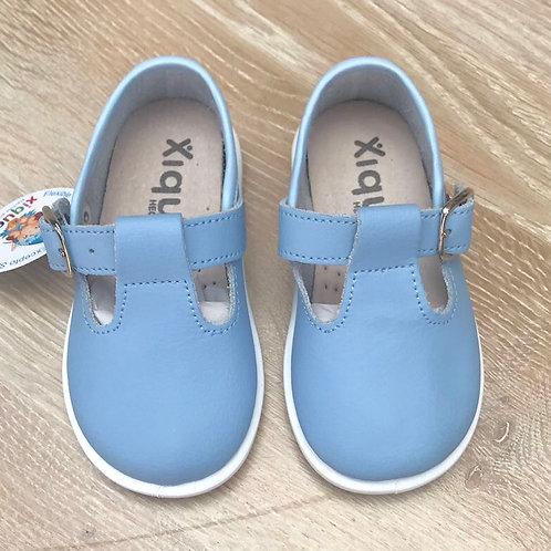 Xiquets Leather T bars Blue