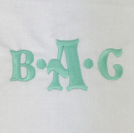 Bold (Initials Only)