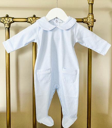 Blue Classic Babygrow