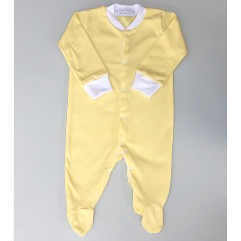 Lemon personalised babygrow