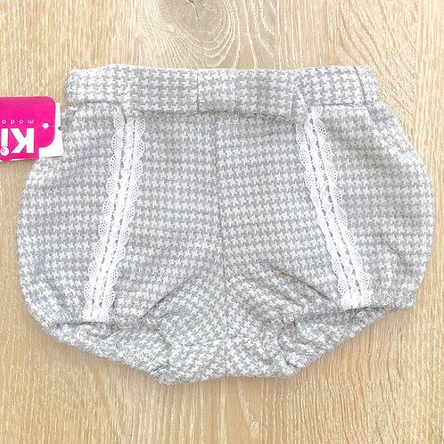 Kiriki Grey Tweed Effect Girls Shorts