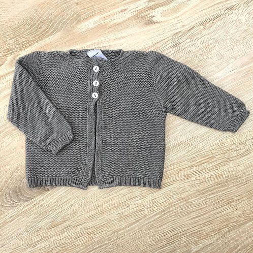 Babidu Grey Knit Jacket
